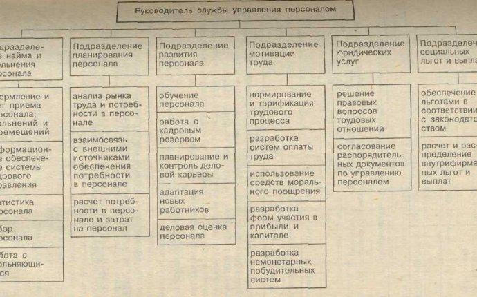 3 2. Организационная структура системы управления персоналом